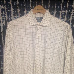 Euc Polo Plaid westerton shirt Sz L